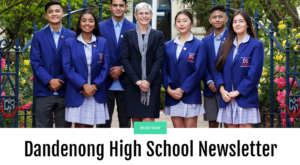 Dandenong High School Newsletter