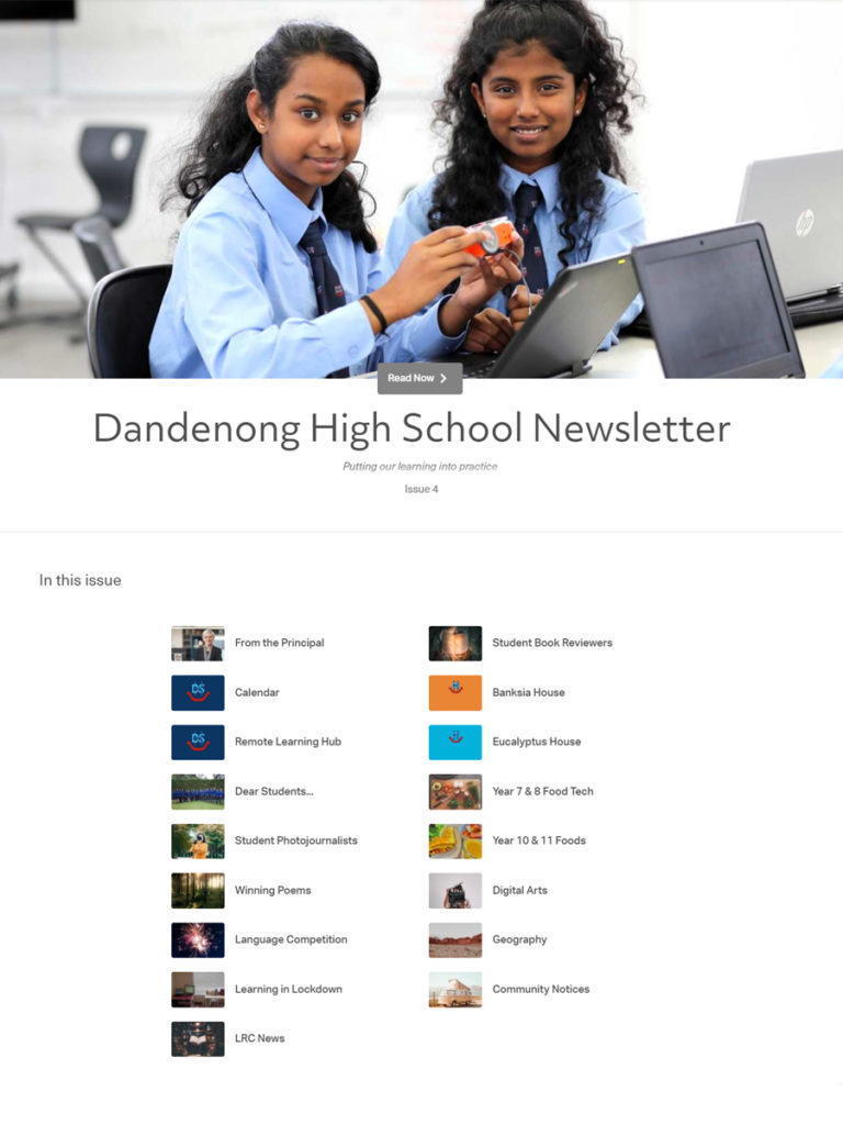 DHS Newsletter Term 3 Issue 4