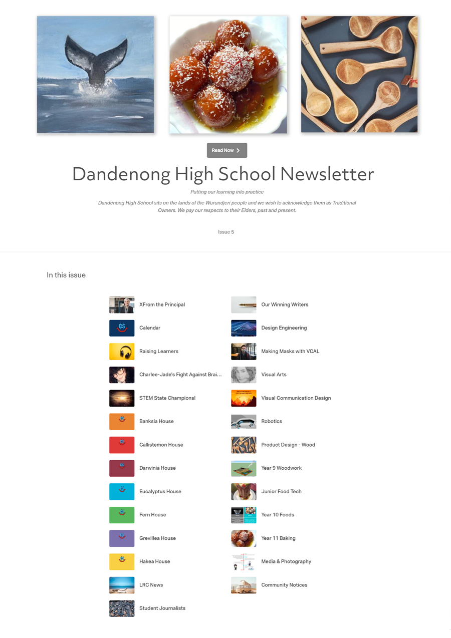 DHS Newsletter - Term 3 Issue 5
