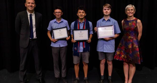 Vernier Award Winners - Dandenong High School