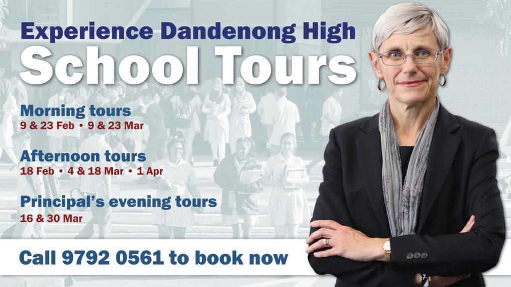 Experience Dandenong High School on a tour