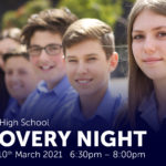 Discovery Night – 10th March