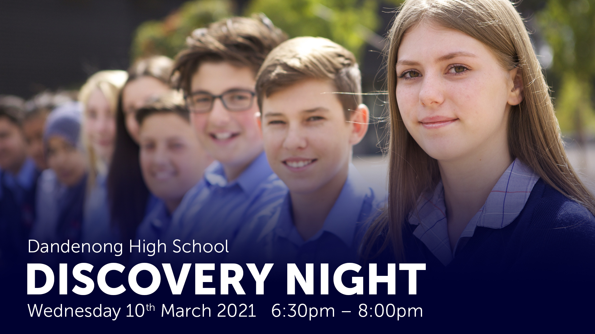 Discover Dandenong High School at our Discovery Night - 10th March 2021