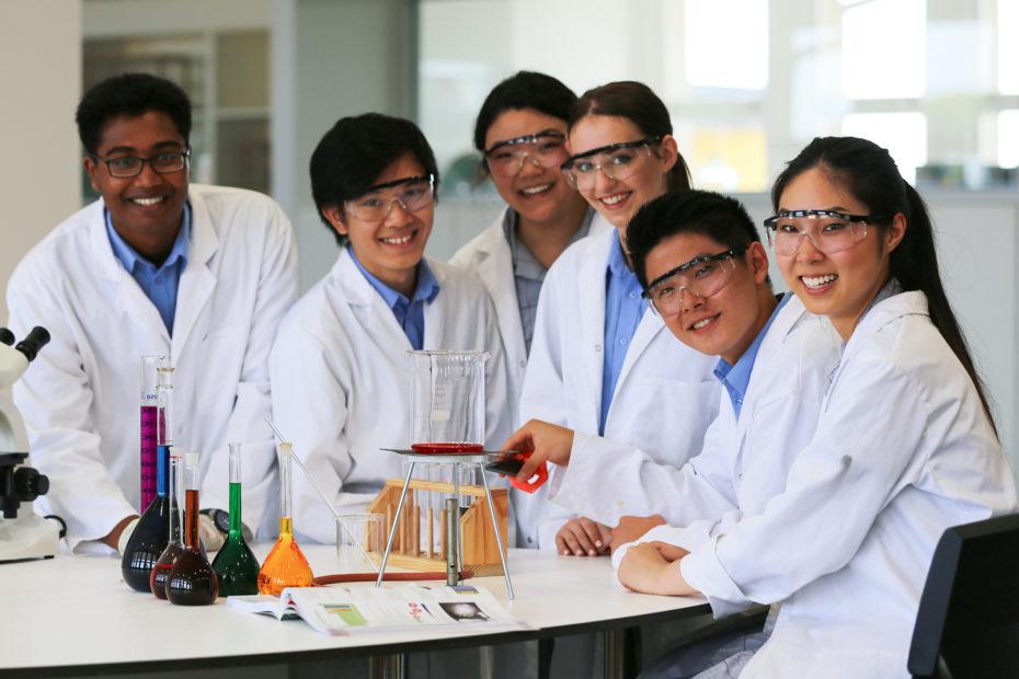 Science Students - Dandenong High School